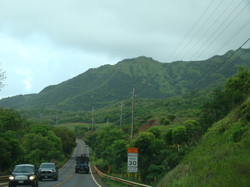Driving South on Kuhio Highway