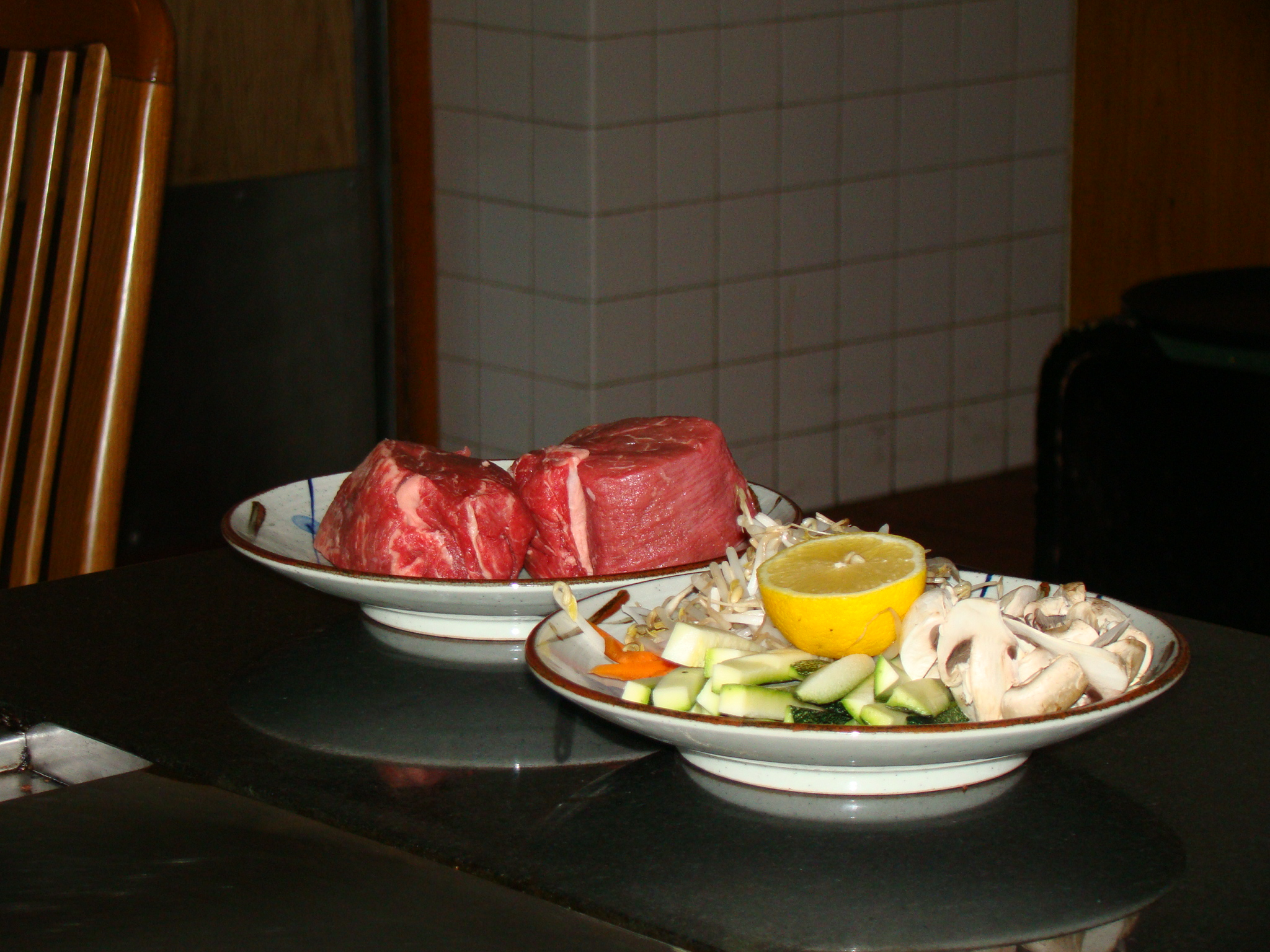 Filets and Vegetables