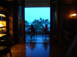 Outdoor Tables Overlook Ocean