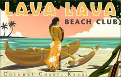 Lava Lava Kauai Logo