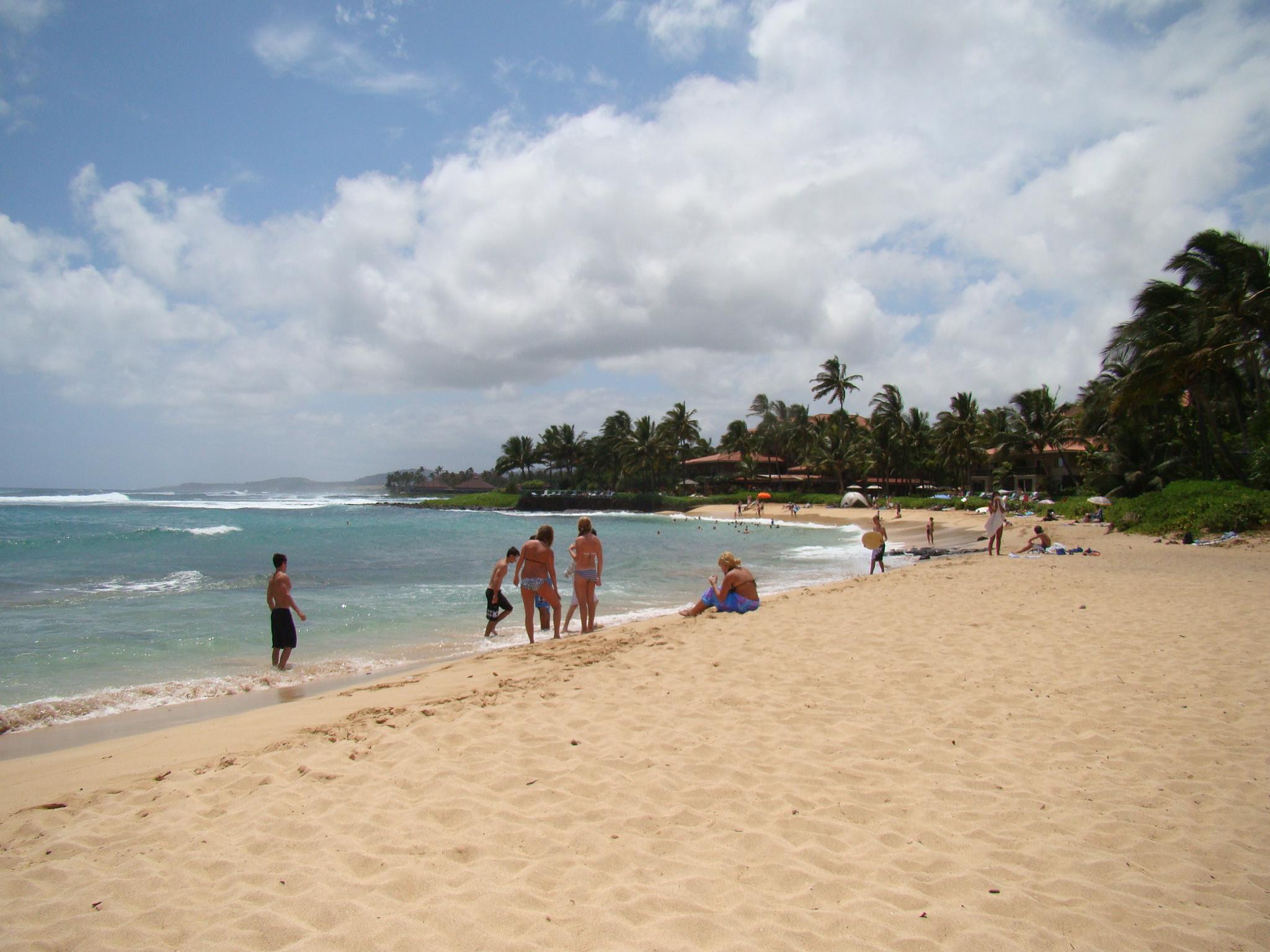 Poipu Beach Looking West