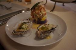 Miyagi Oyster, Passion Fruit, Cucumber