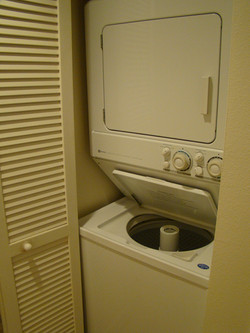 Washer and Dryer Before