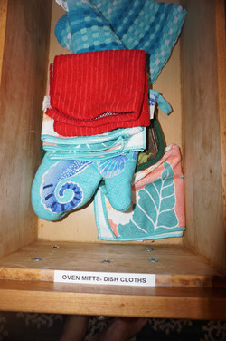 Oven Mitts and Dish Cloths