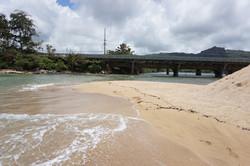 Ocean Feeding Wailua River