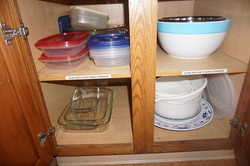 Glass and Plastic Bowls and Strainers