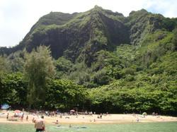 Mountains Next to Beach