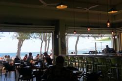 Large Dining Room Overlooks Ocean