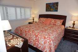 Comfortable King Bed and Bedding