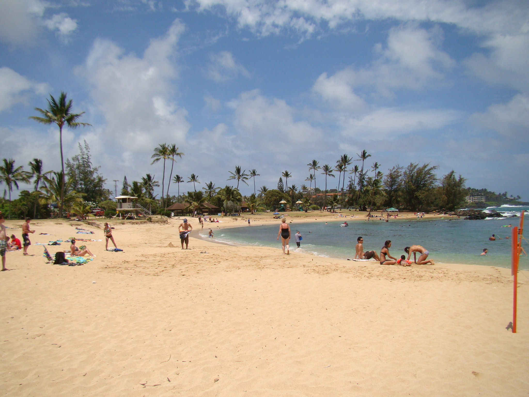 Poipu Beach Looking East