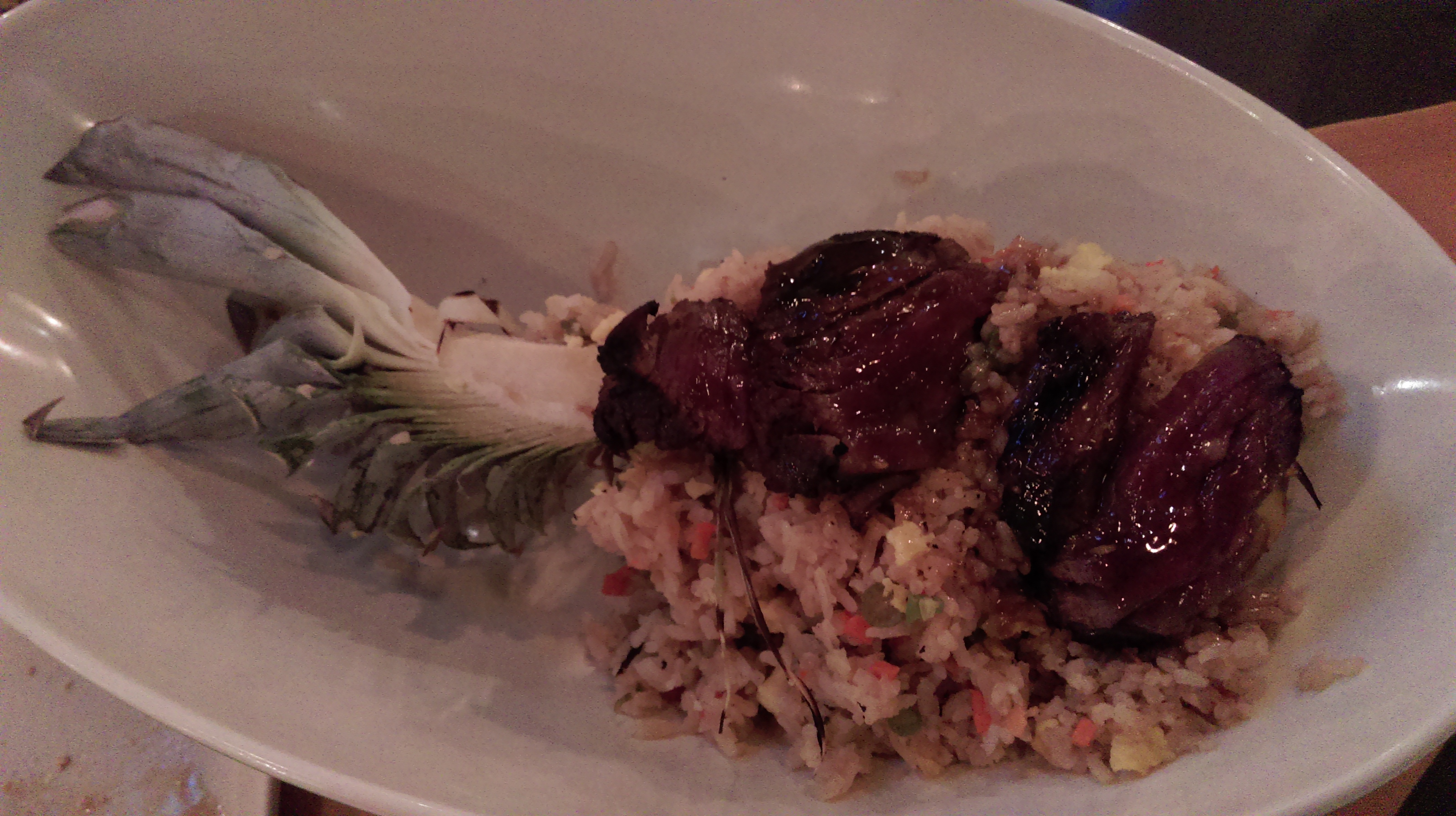 Pineapple Fried Rice & Teryaki Steak
