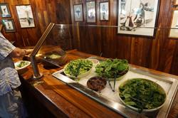 Caesar Salad at Salad Bar