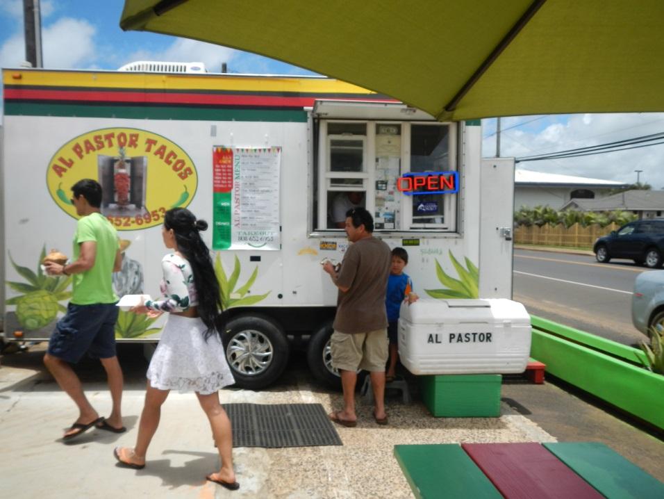 Tacos Al Pastor Food Truck