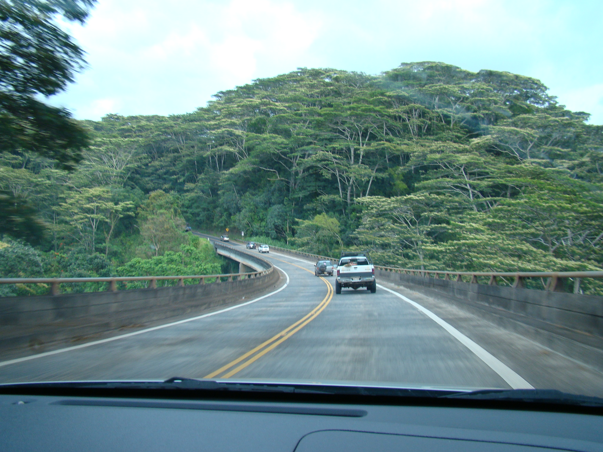 Pretty Curve after Leaving Hanalei