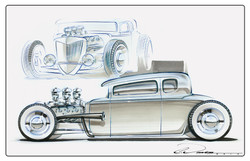 5 Window Hot Rod