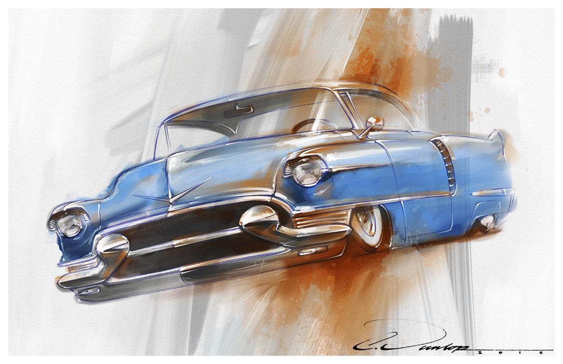 Kustom 56 Cadillac
