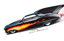 Flamed Nova