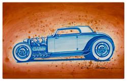 Blue 32 Roadster