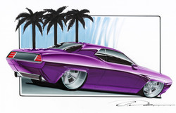 Purple Cuda
