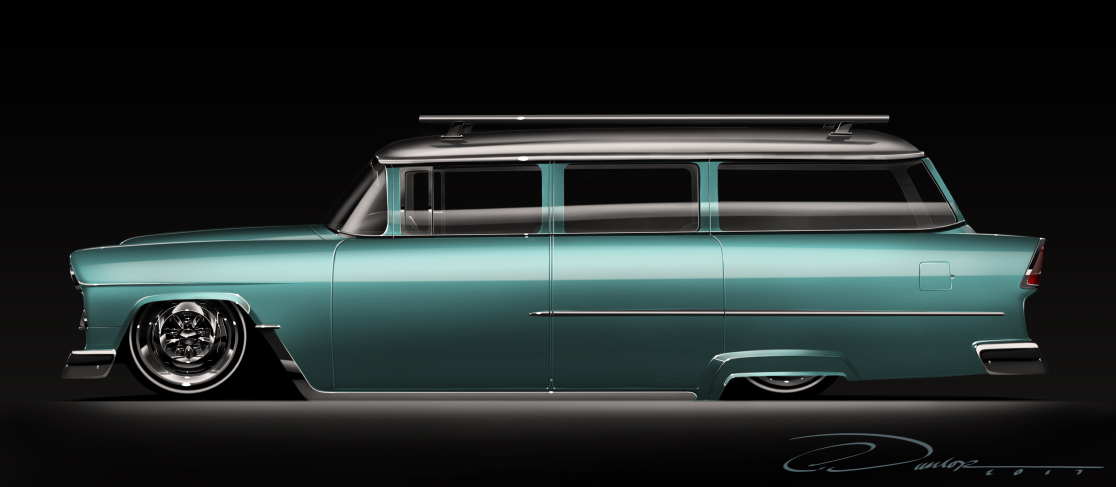 55 Bel Air Wagon