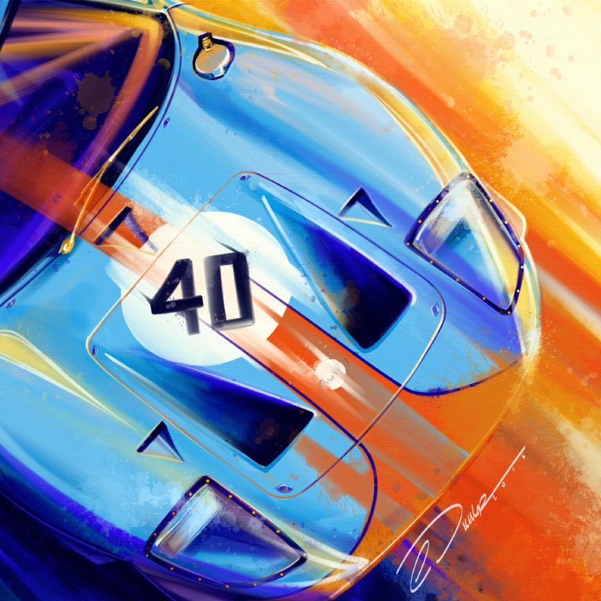 """GT-40 Gulf"""