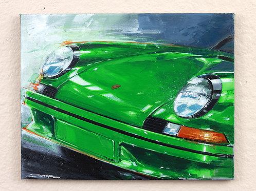 """911 RS"" Original Painting"