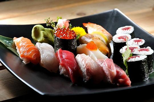 Sushi hos Dattebayo