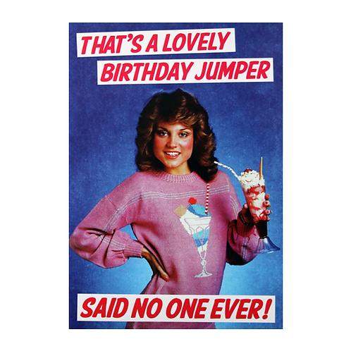Birthday Jumper