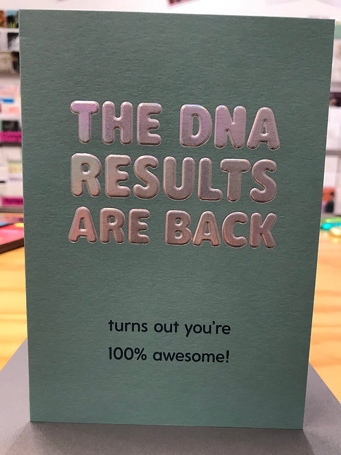 Results are Back