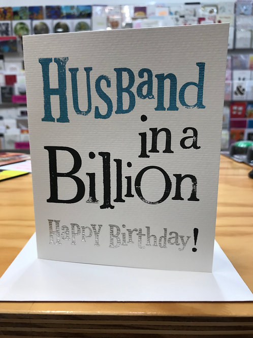 Husband in a Billion