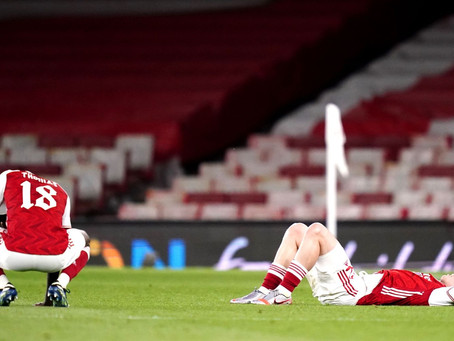 Disappointing Arsenal crash out of Europa League