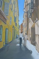 Straatje in Nice