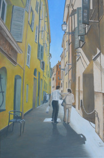 Frère et cousine à Nice