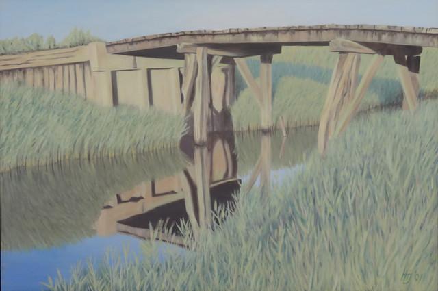 Bruggetje Noodpolderkanaal
