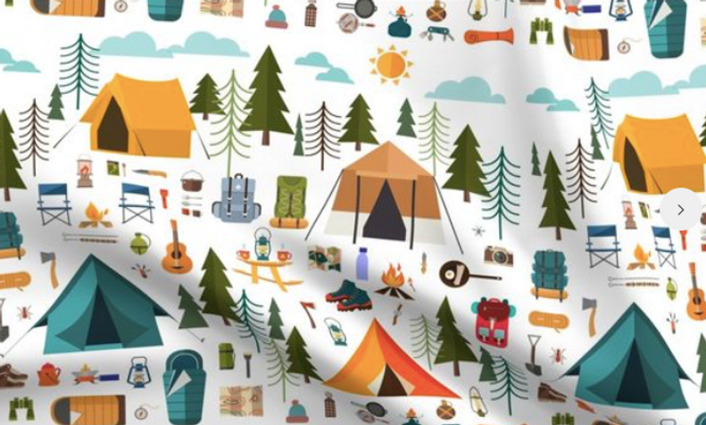 COUVERTURE CAMPING K