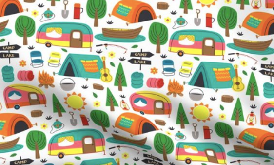COUVERTURE CAMPING I