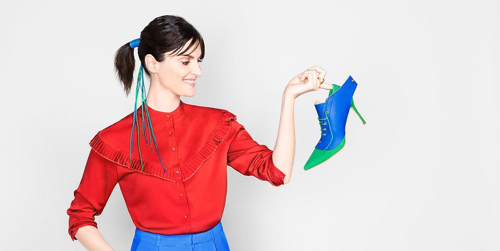 Anne-Claire Thiriot lyon créatrice artisan maroquinerie cuir escarpin guêtre Laura Bonnefous Nina Olivet
