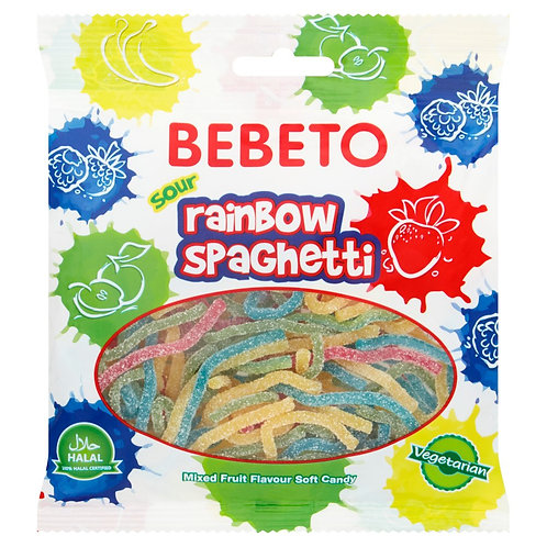 Sour Rainbow Spaghetti