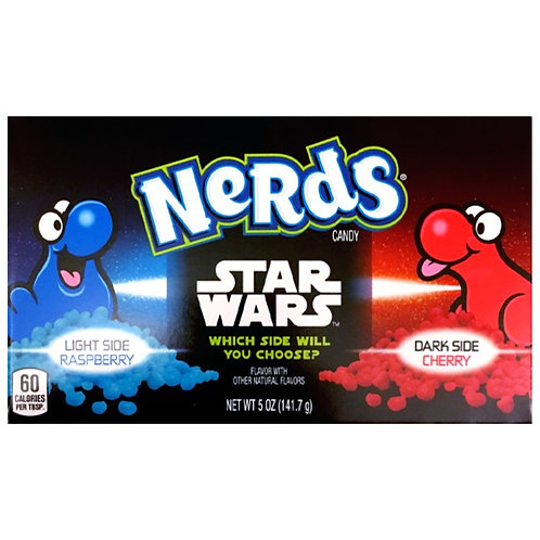 Nerds Star Wars Raspberry Cherry - [141g]