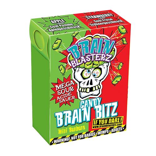 Brain Blasterz Candy Brain Bitz Apple And Strawberry