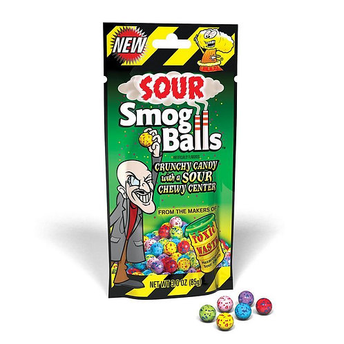 Toxic Waste Sour Smog Balls - [85g]