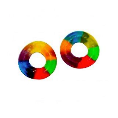 Multicolour Jelly Rings