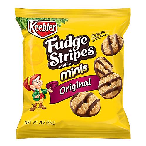 Mini Fudge Stripes