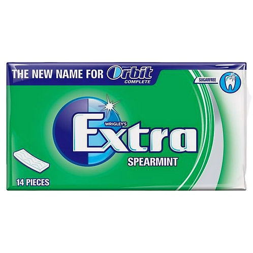 Wrigley's Extra Spearmint Sugar Free Chewing Gum