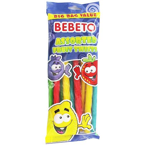 Bebeto Assorted Fruit Twists