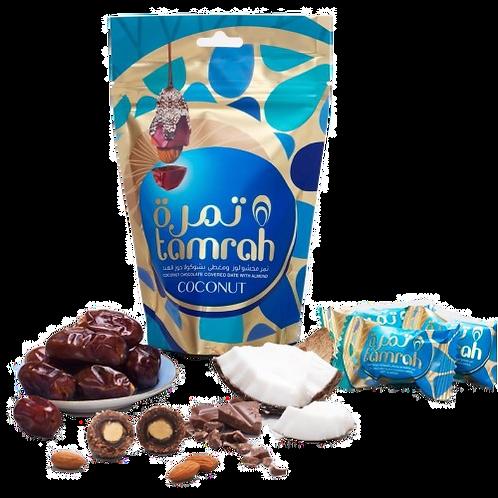 Coconut & Chocolate Chocolate Covered Almond Stuffed Dates