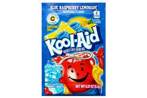 Kool Aid Blue Raspberry Lemonade