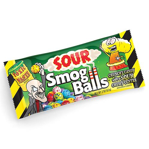 Toxic Waste Sour Smog Balls - [48g]