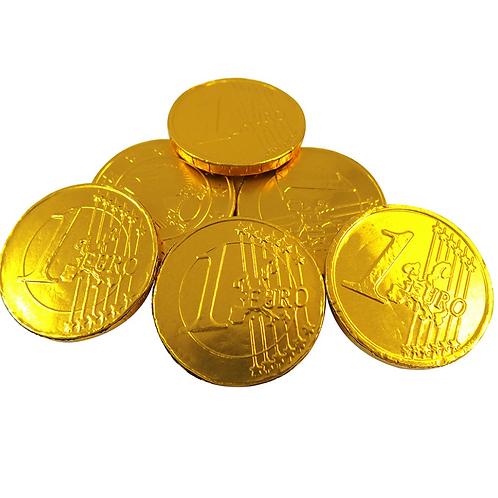 Milk Chocolate Coins - 10 pieces