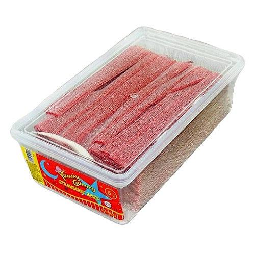 Fizzy Strawberry Belts - [150 belts]
